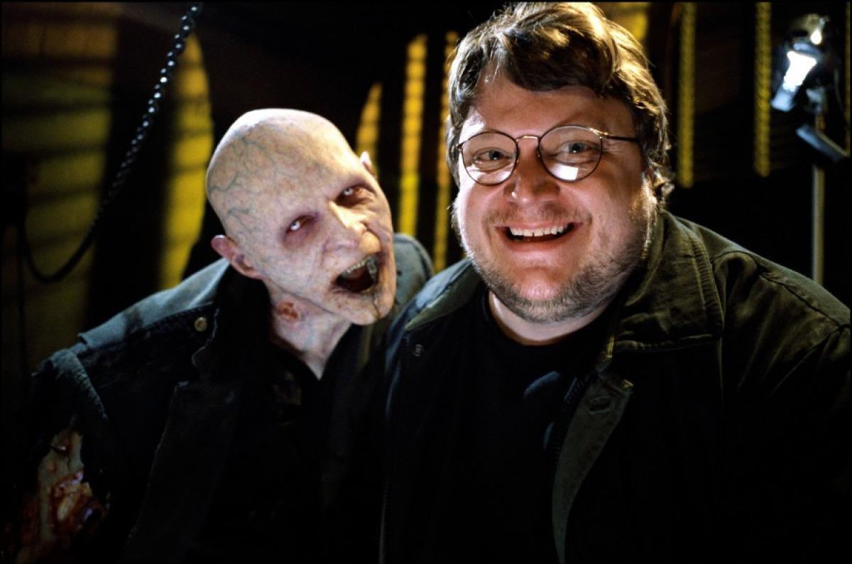 Guillermo del Toro z Nomakiem z filmu Blade: Wieczny łowca II