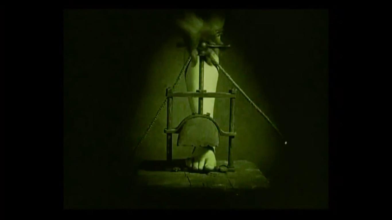 Kadr z filmu Häxan