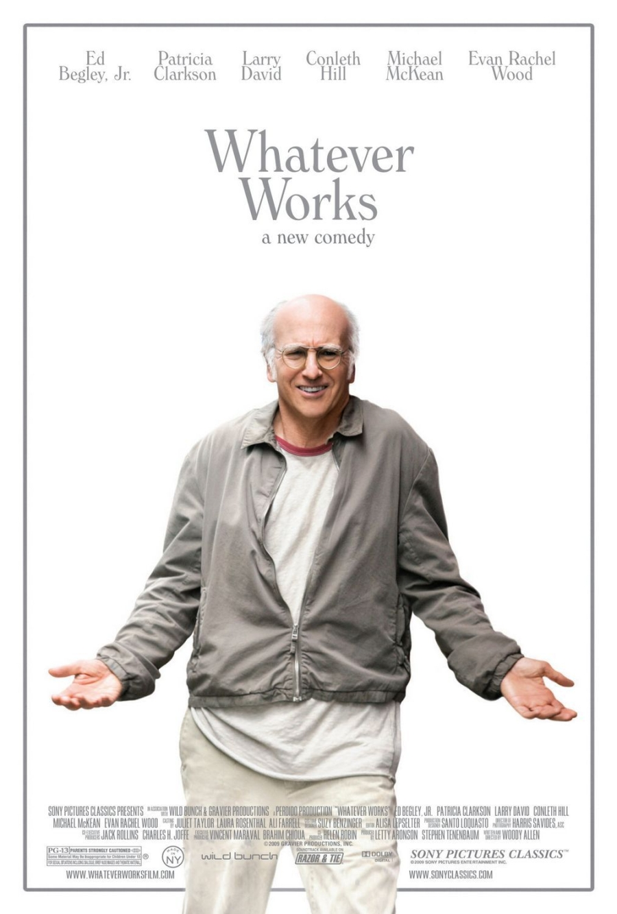 Larry David - Whatever Works - plakat