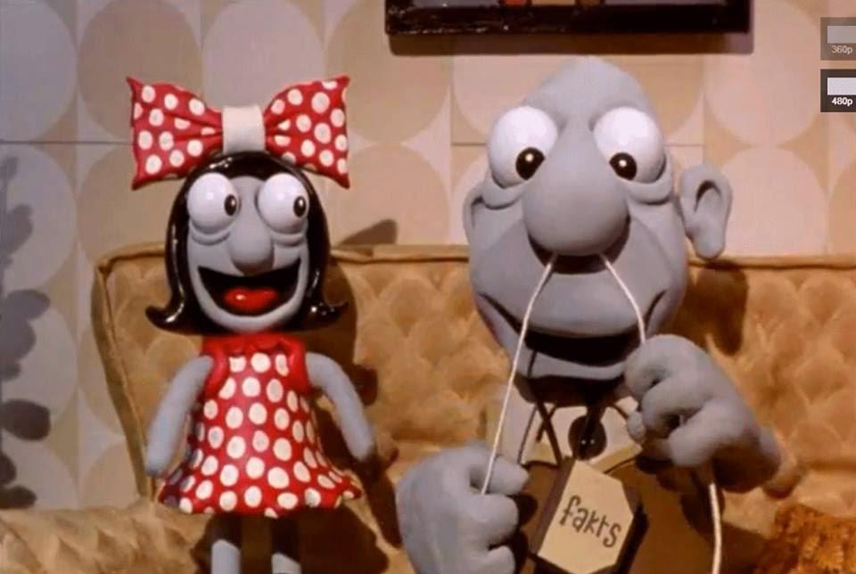 Kadr z filmu Harvie Krumpet